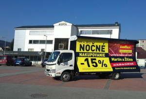 04 Mobilní reklama - 02 - Promo kamion